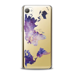 Lex Altern TPU Silicone HTC Case Abstract Galaxy