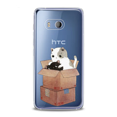 Lex Altern TPU Silicone HTC Case Kawaii Cat