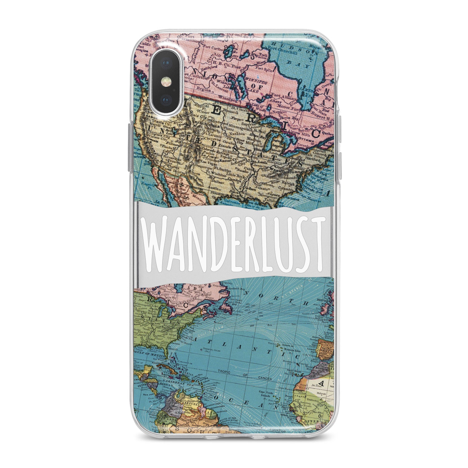Lex Altern Map Print Phone Case for your iPhone & Android phone.