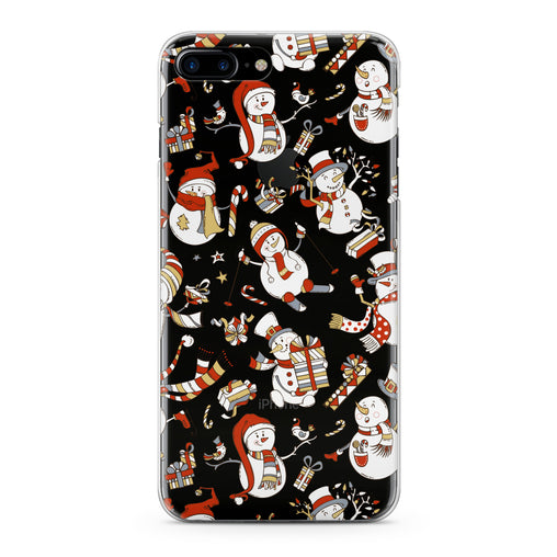 Lex Altern Cute Snowman Art Phone Case for your iPhone & Android phone.