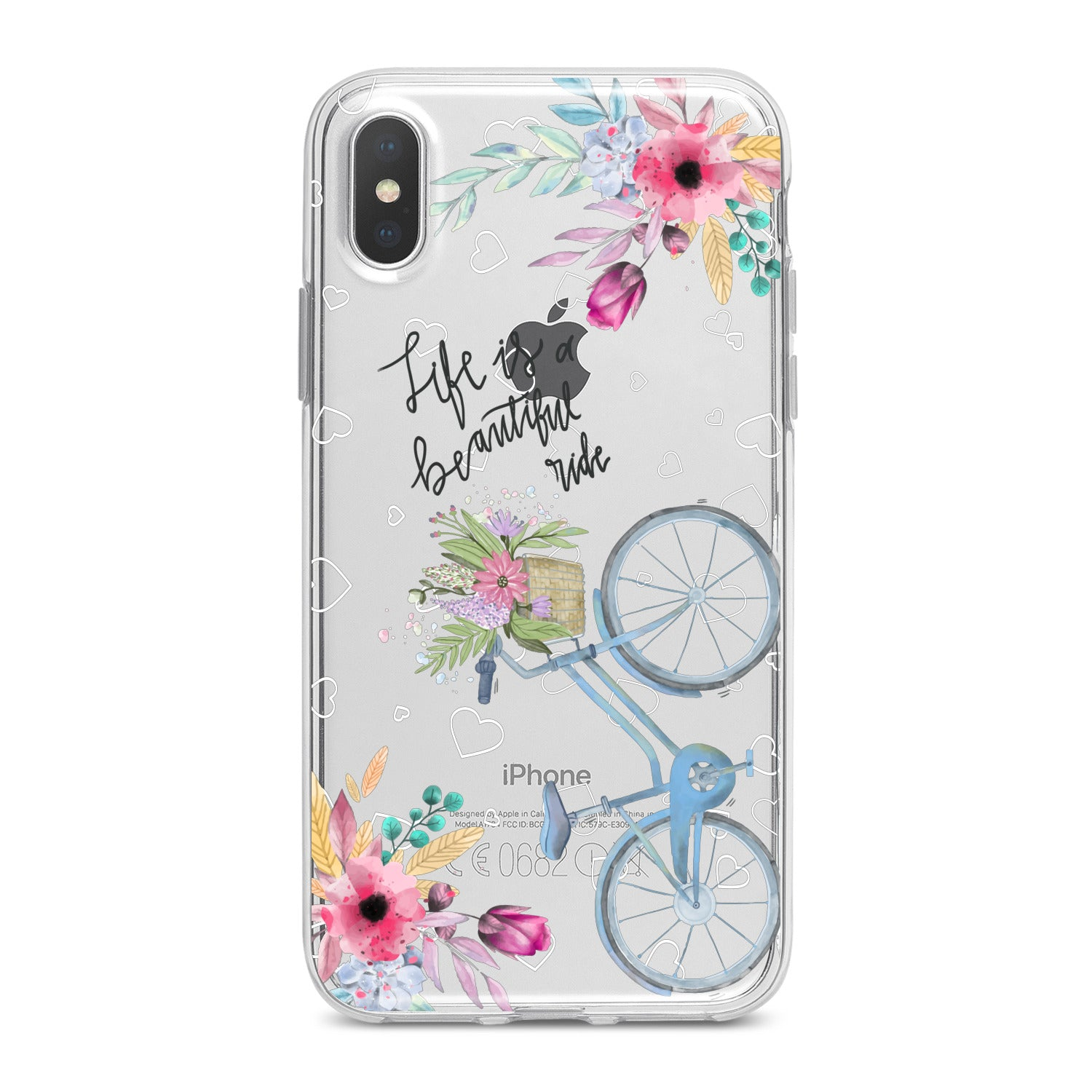 Lex Altern Bicycle Quote Phone Case for your iPhone & Android phone.