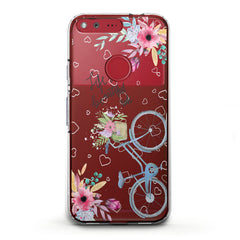 Lex Altern TPU Silicone Phone Case Bicycle Quote