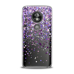Lex Altern TPU Silicone Phone Case Purple Confetti