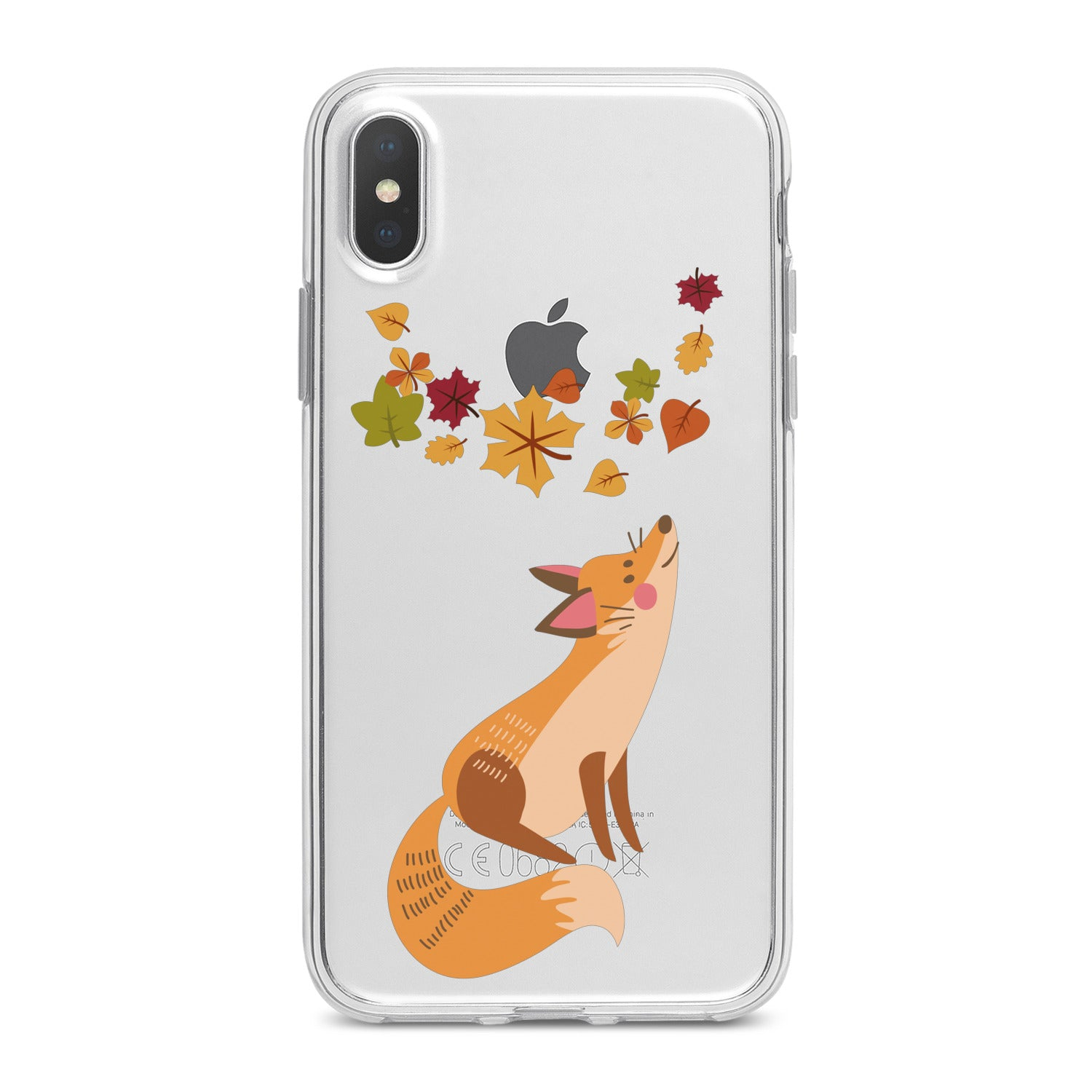 Lex Altern Cute Fox Animal Phone Case for your iPhone & Android phone.