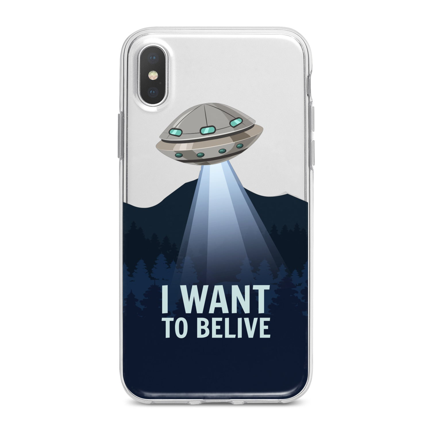 Lex Altern Ufo Quote Phone Case for your iPhone & Android phone.