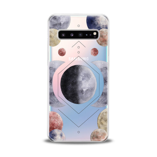 Lex Altern Abstract Planets Samsung Galaxy Case