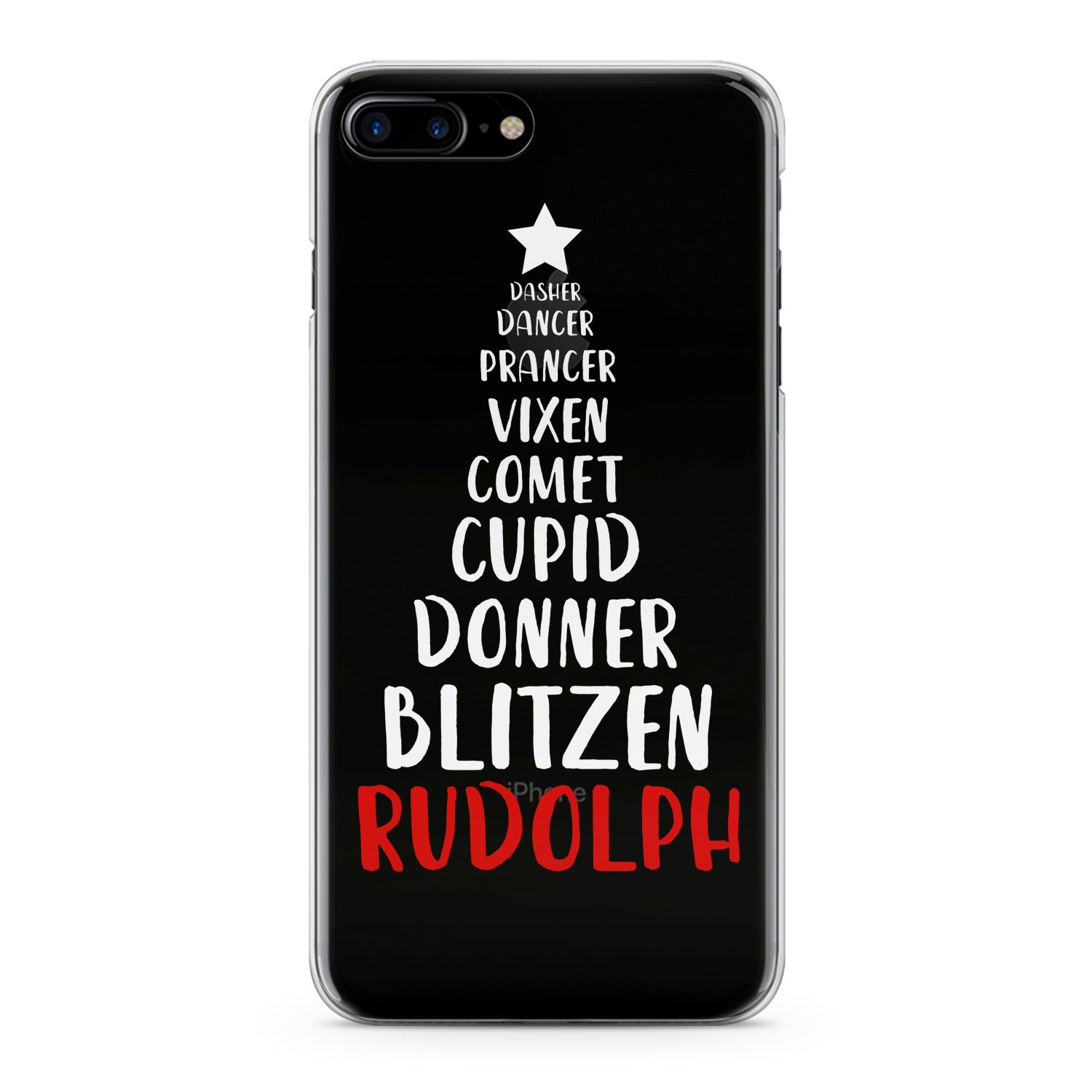 Lex Altern Christmas Tree Quote Phone Case for your iPhone & Android phone.