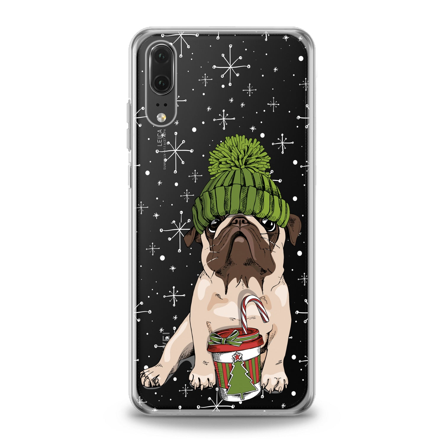 Lex Altern Kawaii Pug Huawei Honor Case