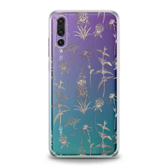 Lex Altern TPU Silicone Huawei Honor Case Wildflowers Graphic