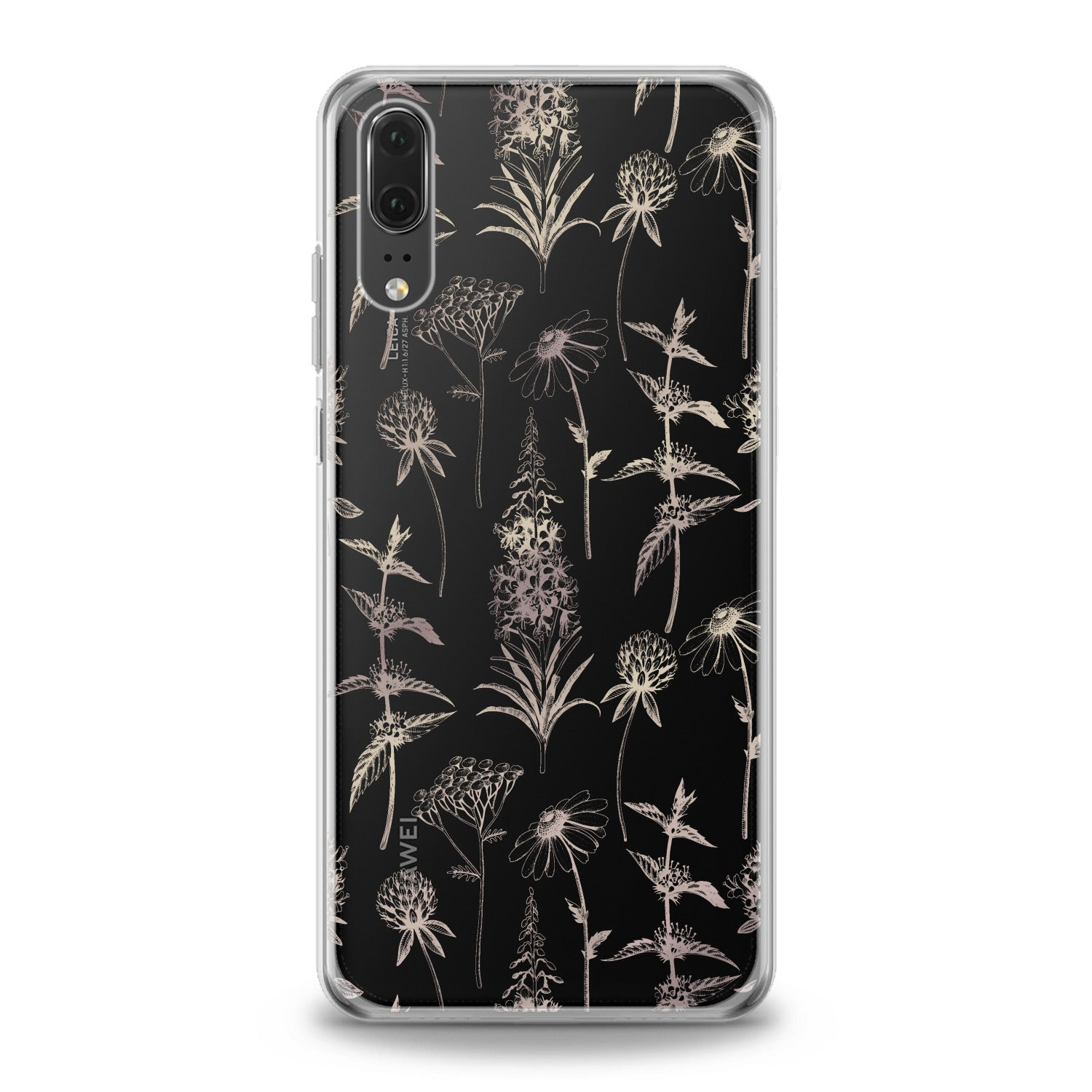 Lex Altern Wildflowers Graphic Huawei Honor Case