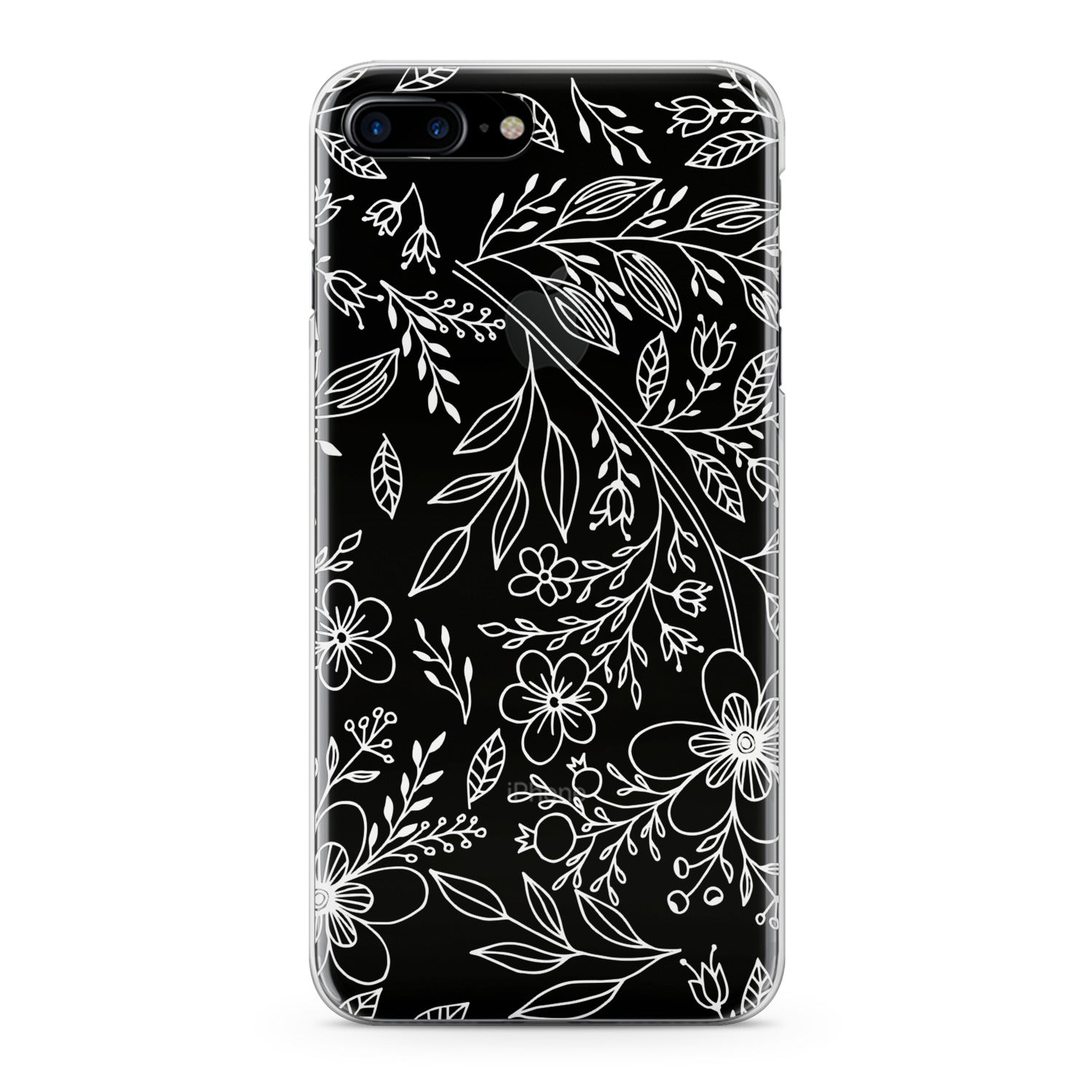 Lex Altern Contoured Wildflowers Phone Case for your iPhone & Android phone.