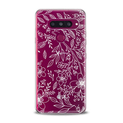 Lex Altern TPU Silicone Phone Case Contoured Wildflowers