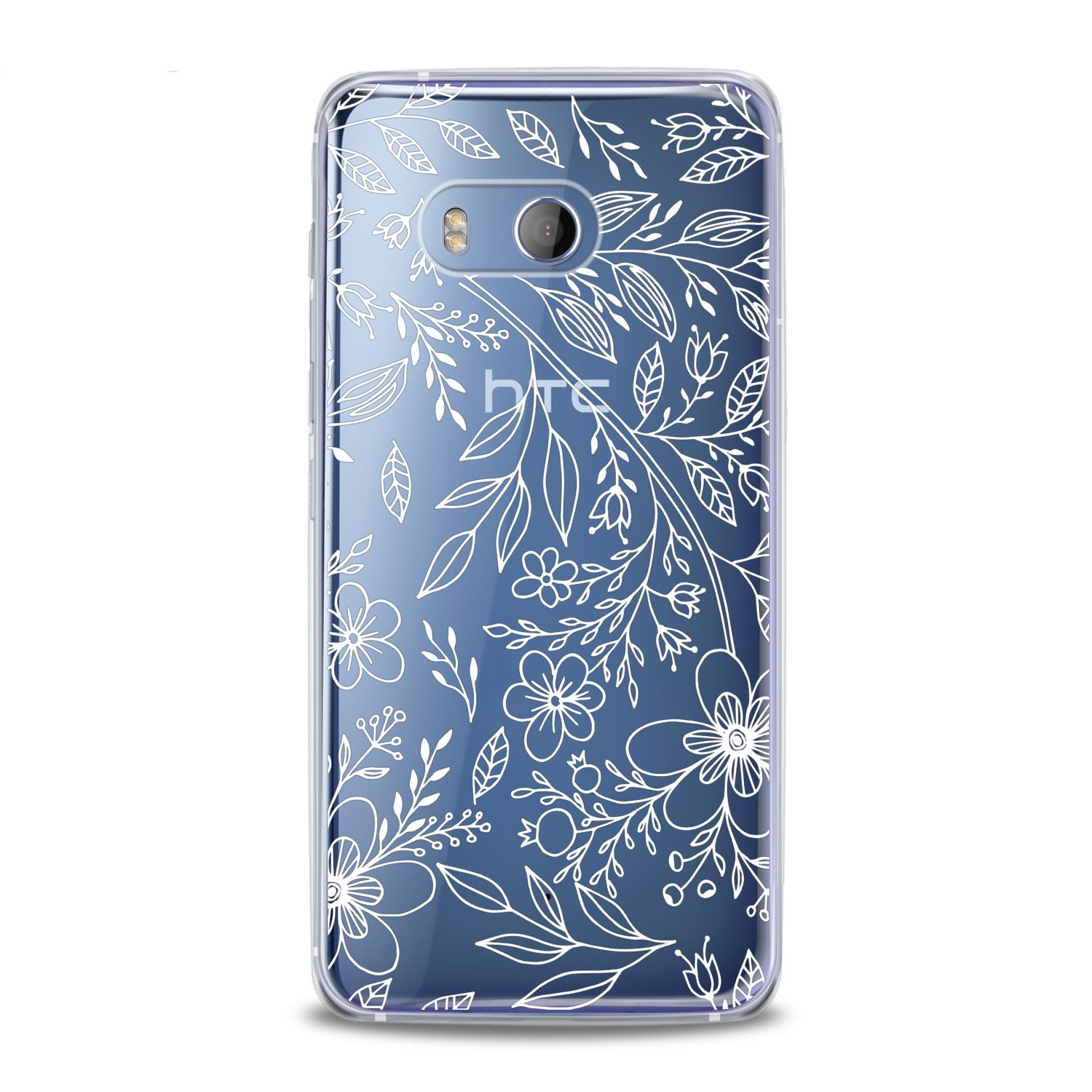 Lex Altern Contoured Wildflowers HTC Case