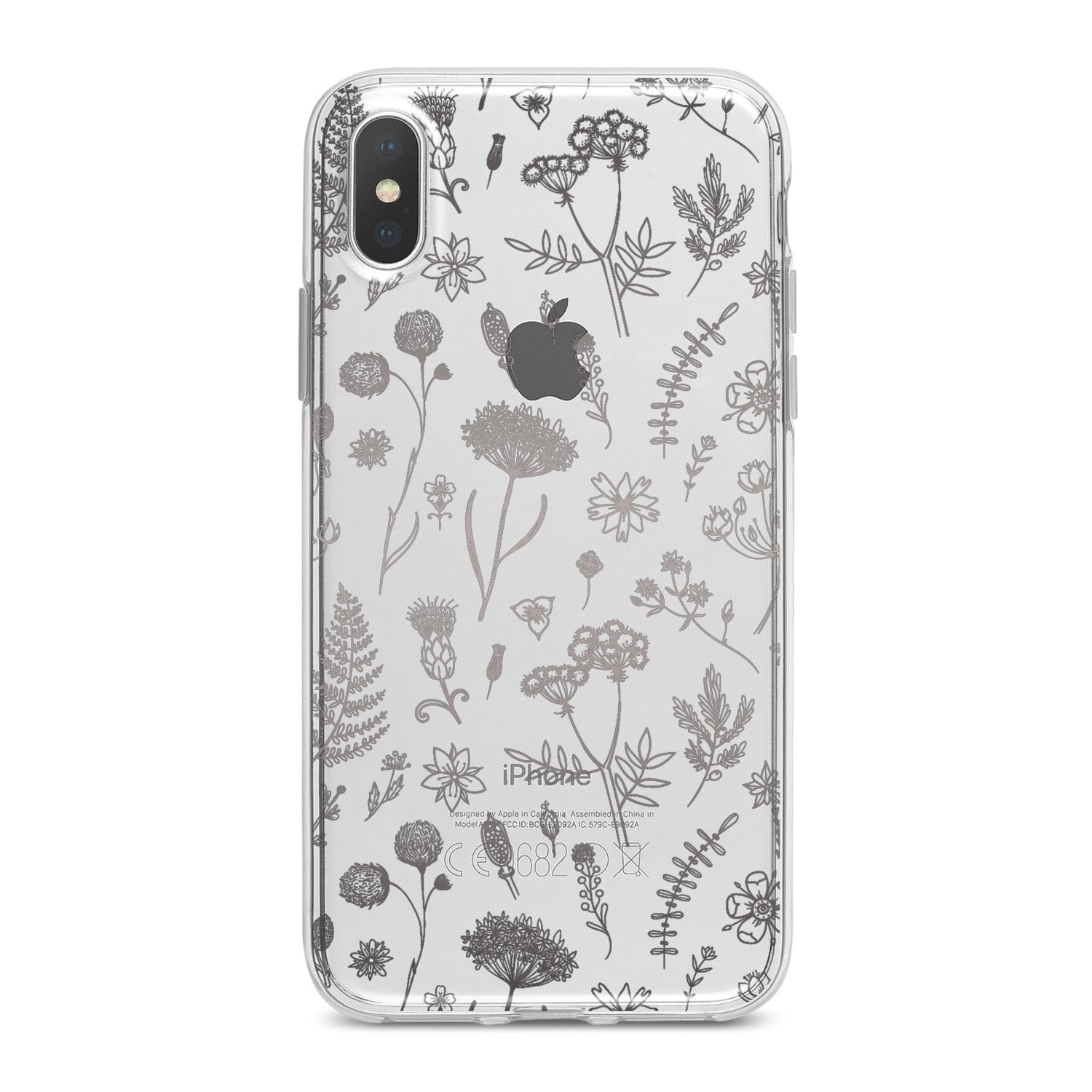 Lex Altern Cute Wildflowers Phone Case for your iPhone & Android phone.
