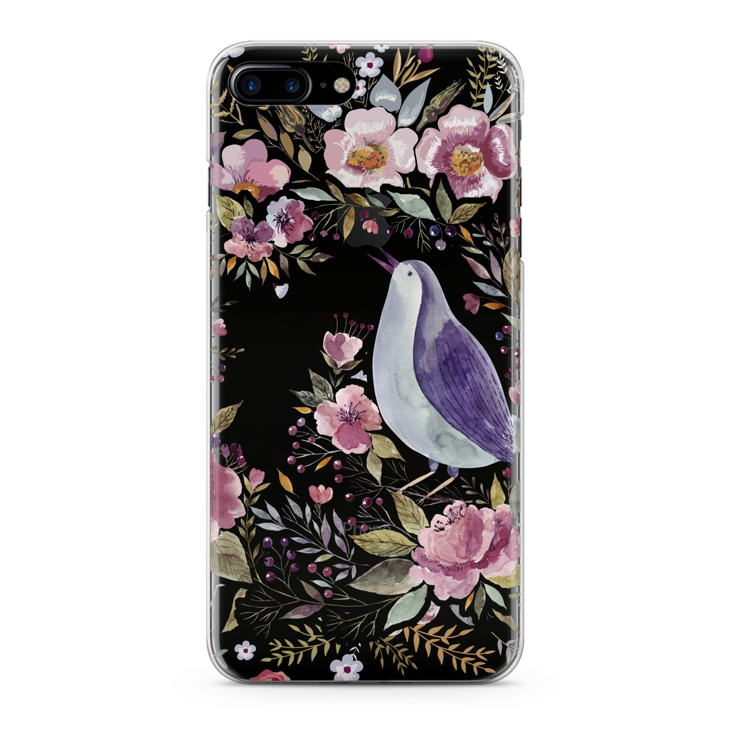 Lex Altern Floral Bird Phone Case for your iPhone & Android phone.