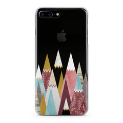 Lex Altern Colored Triangles Phone Case for your iPhone & Android phone.