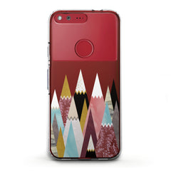 Lex Altern TPU Silicone Phone Case Colored Triangles