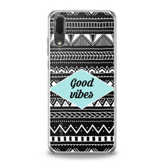 Lex Altern Geometric Quote Huawei Honor Case