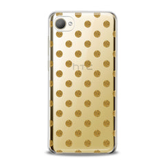 Lex Altern TPU Silicone HTC Case Golden Dots
