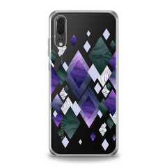 Lex Altern Colorful Rhombuses Huawei Honor Case