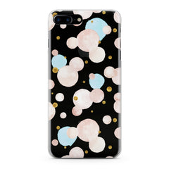 Lex Altern Watercolor Dots Phone Case for your iPhone & Android phone.