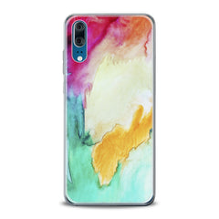 Lex Altern TPU Silicone Huawei Honor Case Watercolor Paint