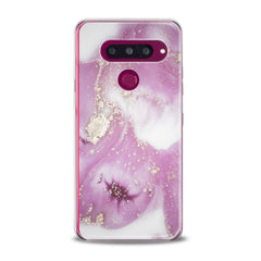 Lex Altern TPU Silicone Phone Case Pink Oil Paint