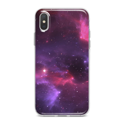 Lex Altern Purple Abstract Space Phone Case for your iPhone & Android phone.