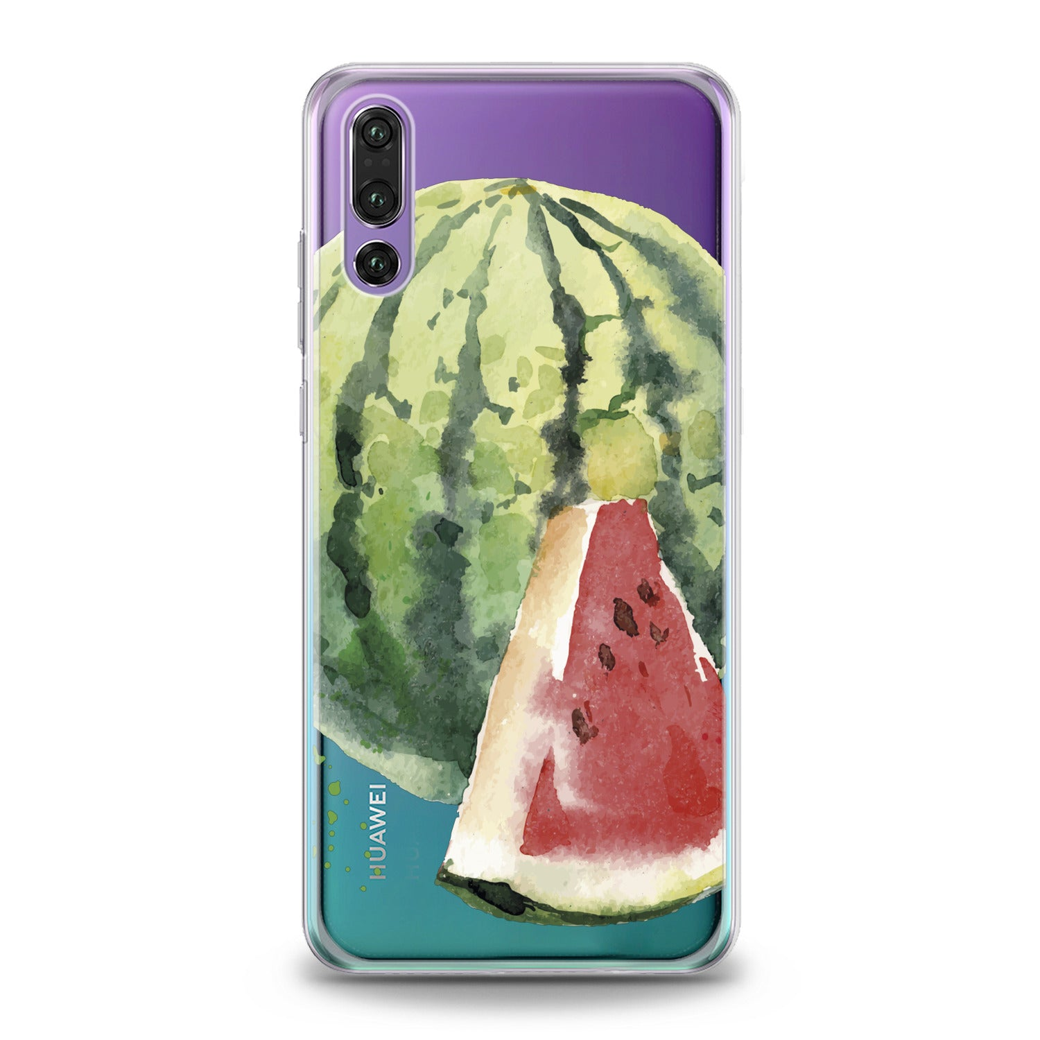 Lex Altern Watermelon Theme Huawei Honor Case