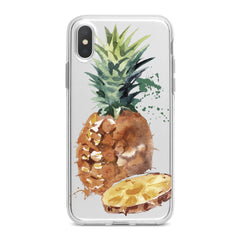 Lex Altern TPU Silicone Phone Case Watercolor Pineapple