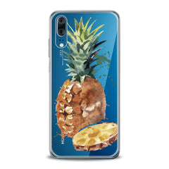 Lex Altern TPU Silicone Huawei Honor Case Watercolor Pineapple