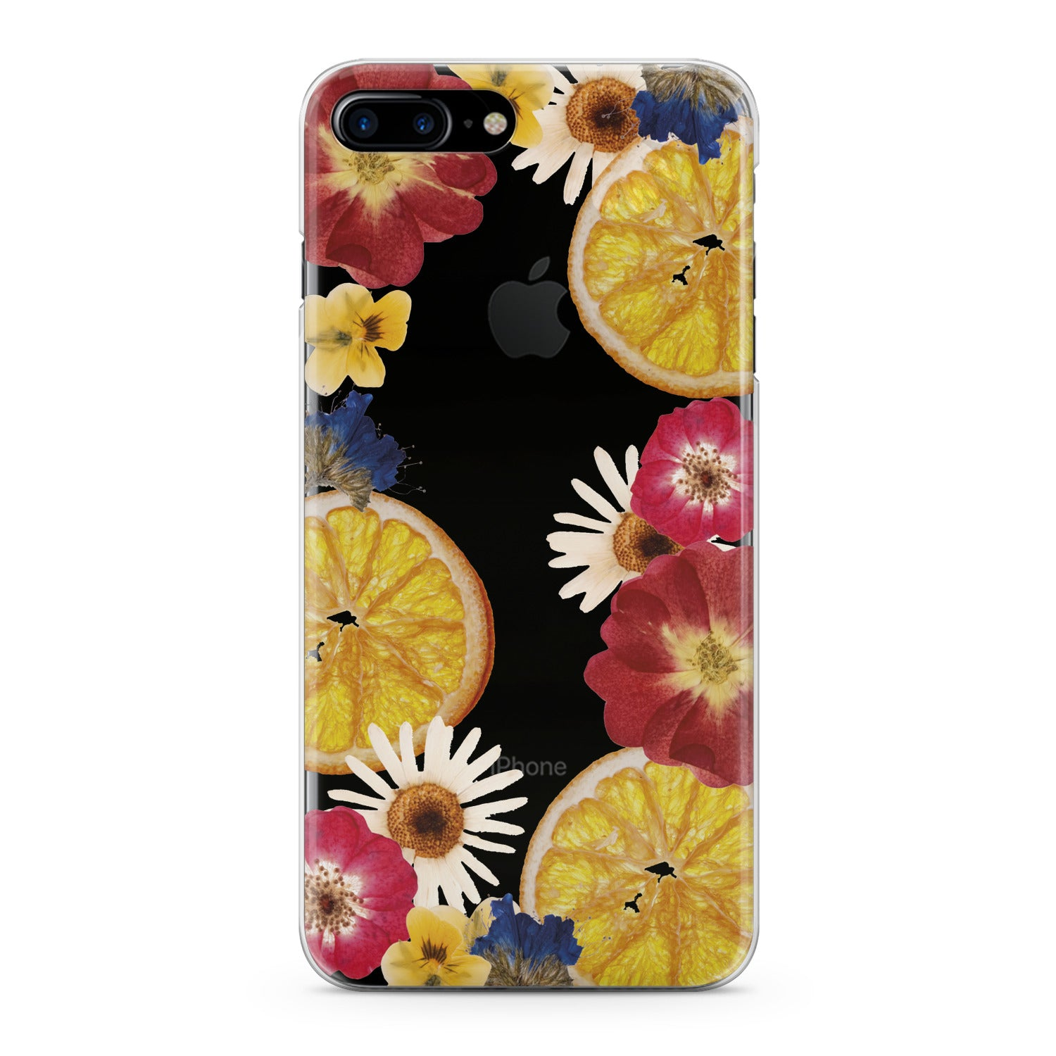 Lex Altern Floral Citrus Phone Case for your iPhone & Android phone.