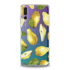 Lex Altern TPU Silicone Huawei Honor Case Pears Pattern