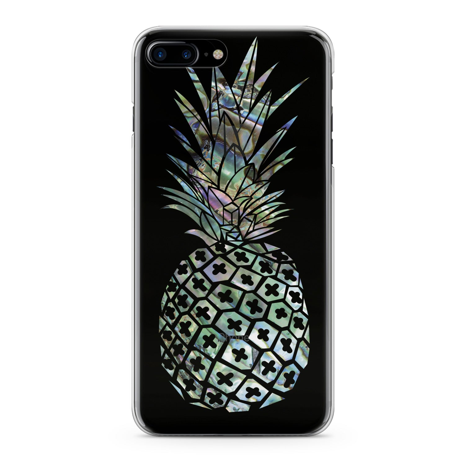 Lex Altern Iridescent Pineapple Phone Case for your iPhone & Android phone.