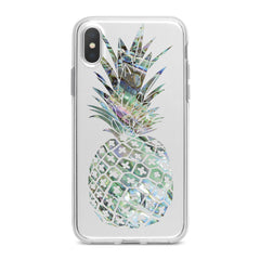 Lex Altern TPU Silicone Phone Case Iridescent Pineapple