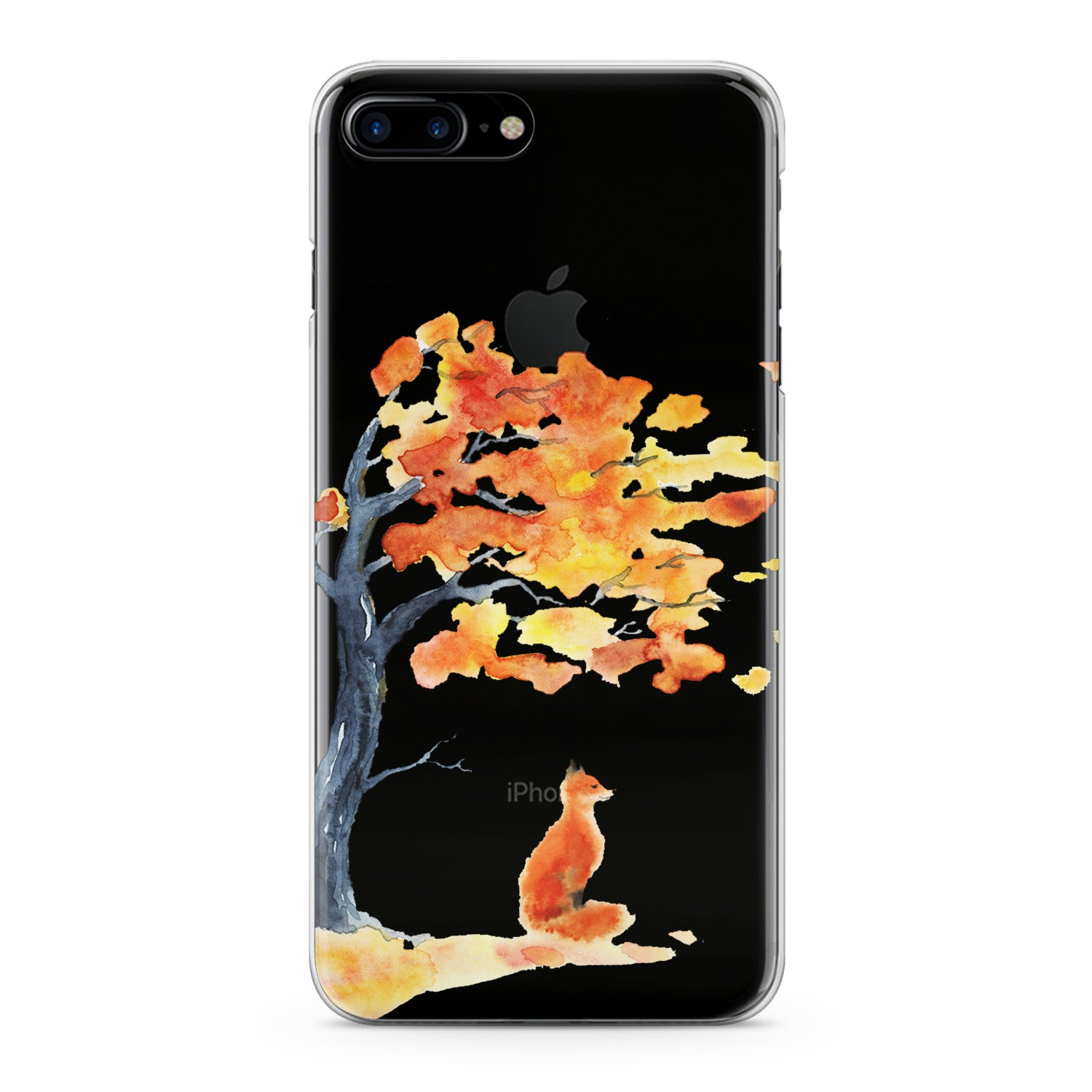 Lex Altern Watercolor Fox Phone Case for your iPhone & Android phone.