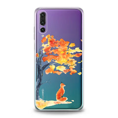 Lex Altern TPU Silicone Huawei Honor Case Watercolor Fox