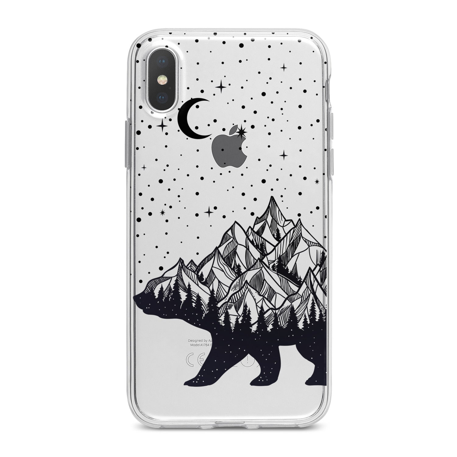 Lex Altern Abstract Bear Phone Case for your iPhone & Android phone.