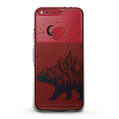 Lex Altern TPU Silicone Phone Case Abstract Bear