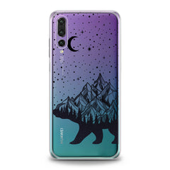 Lex Altern Abstract Bear Huawei Honor Case