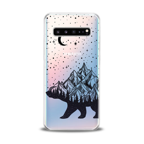 Lex Altern Abstract Bear Samsung Galaxy Case