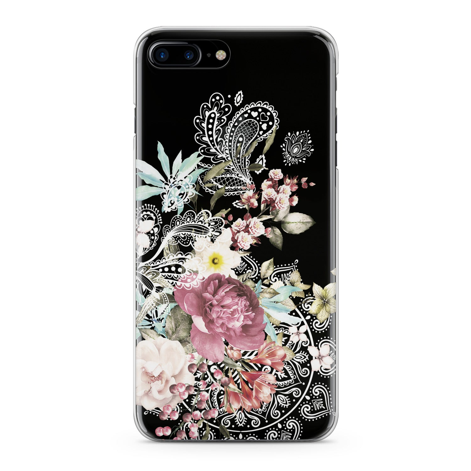 Lex Altern Floral Mandala Phone Case for your iPhone & Android phone.
