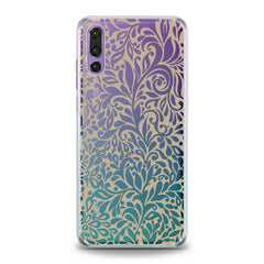 Lex Altern TPU Silicone Huawei Honor Case White Boho Pattern