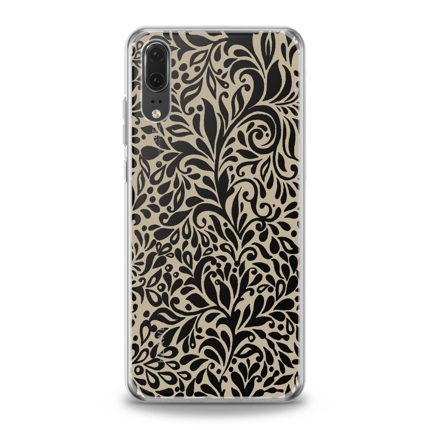 Lex Altern White Boho Pattern Huawei Honor Case