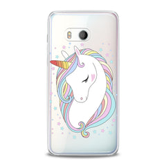 Lex Altern TPU Silicone HTC Case Cute Unicorn