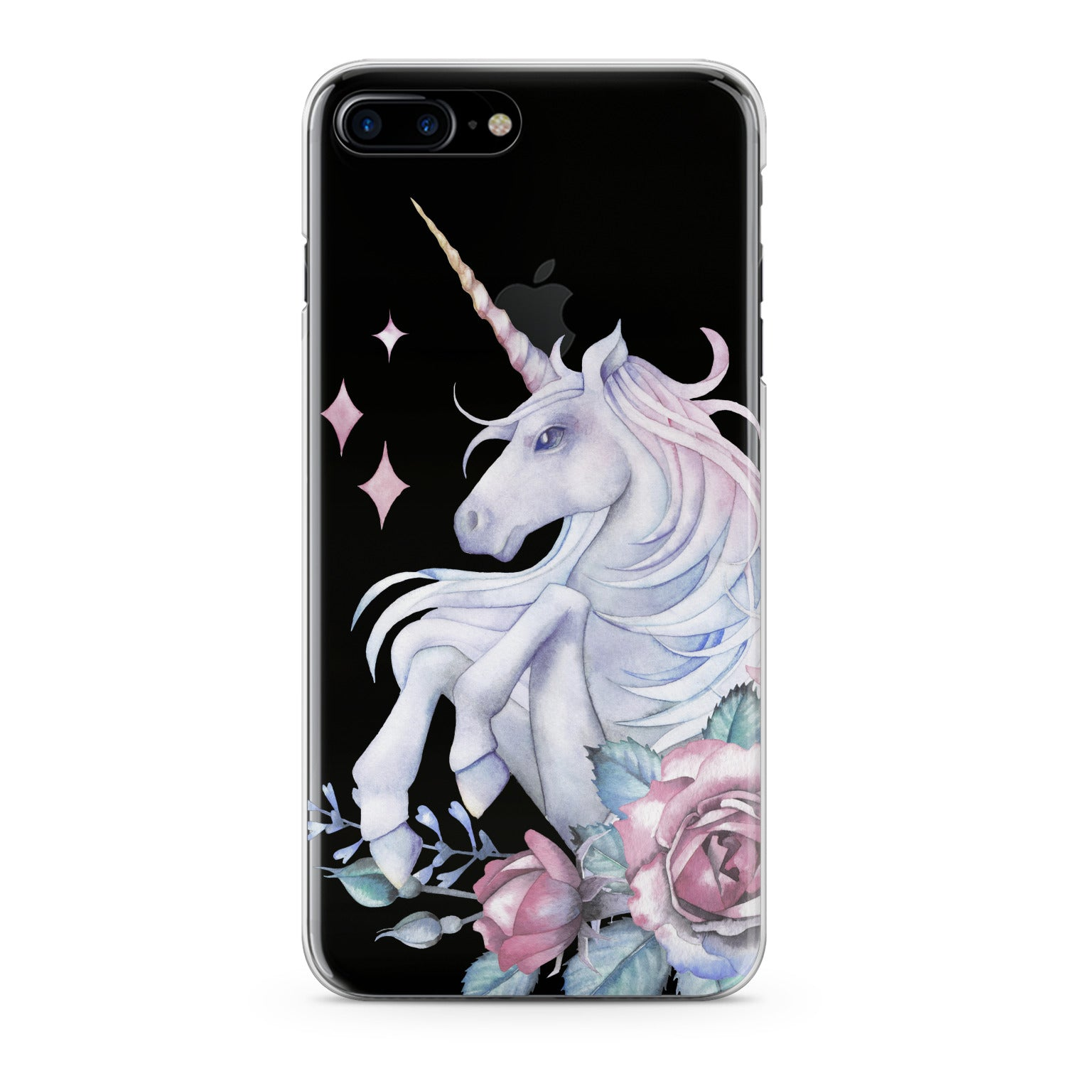 Lex Altern Floral Unicorn Phone Case for your iPhone & Android phone.