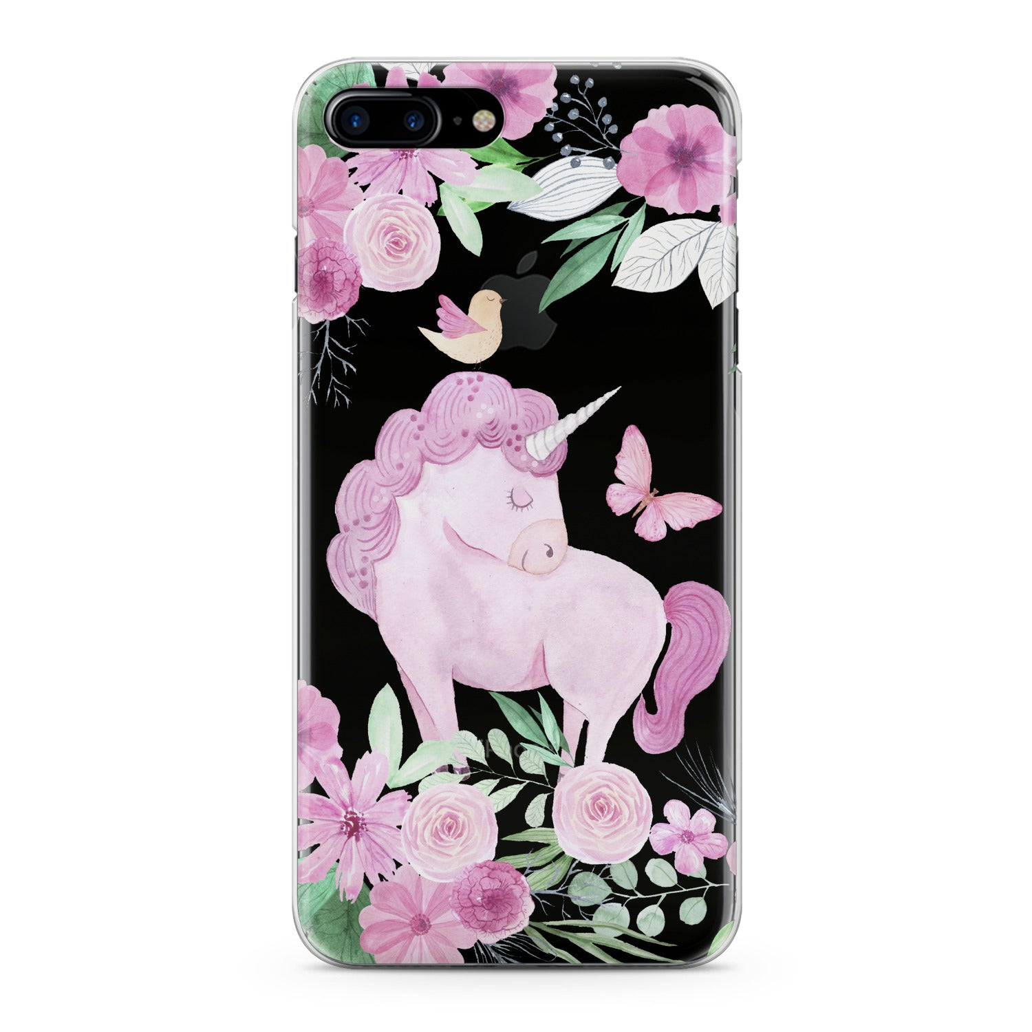 Lex Altern Pink Unicorn Phone Case for your iPhone & Android phone.