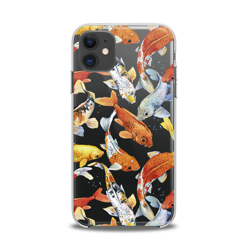 Lex Altern TPU Silicone iPhone Case Aquarium Fishes