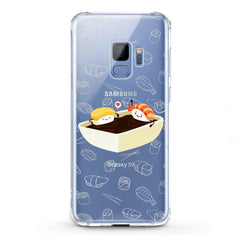 Lex Altern TPU Silicone Phone Case Cute Sushi