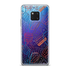 Lex Altern TPU Silicone Huawei Honor Case Colored Stamps